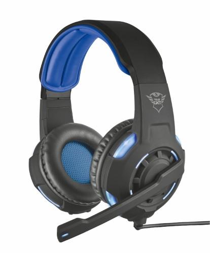 Trust GXT 350 RADIUS 7.1 Headset Head-band Black,Blue