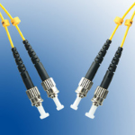 Microconnect ST/PC-ST/PC 2M 2m ST ST Yellow fiber optic cable