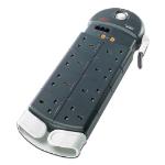APC PL8VT3-GB surge protector 8 AC outlet(s) 230 V 2.44 m Black