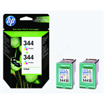 HP C9505EE (344) Printhead color, 560 pages, 14ml, Pack qty 2