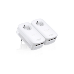 TP-LINK AV1200 1200Mbit/s Ethernet LAN White 2pc(s) PowerLine network adapter