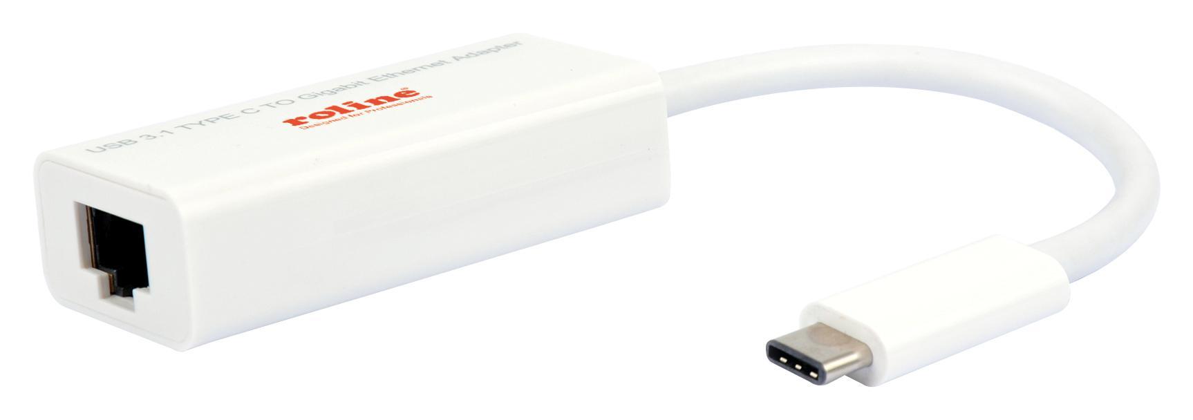 ROLINE USB3.1 TYPE C-GIGABIT ETHERNET CONVERTER
