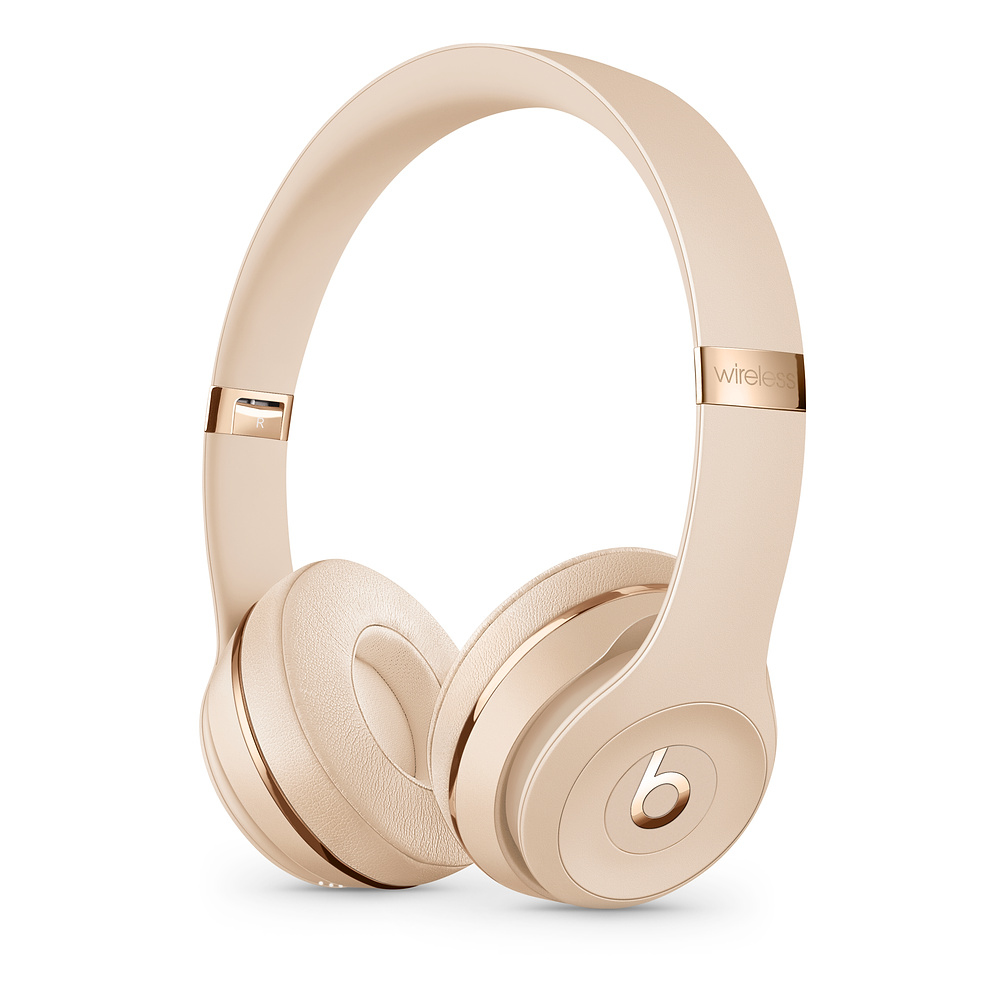 Apple Beats Solo3 mobile headset Binaural Head-band Gold Wired & Wireless