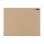 Nobo Basic Fixed bulletin board Brown Cork