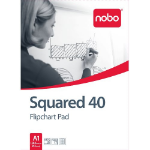 Nobo Flipchart Pad Squared 40 sheets ( A1)