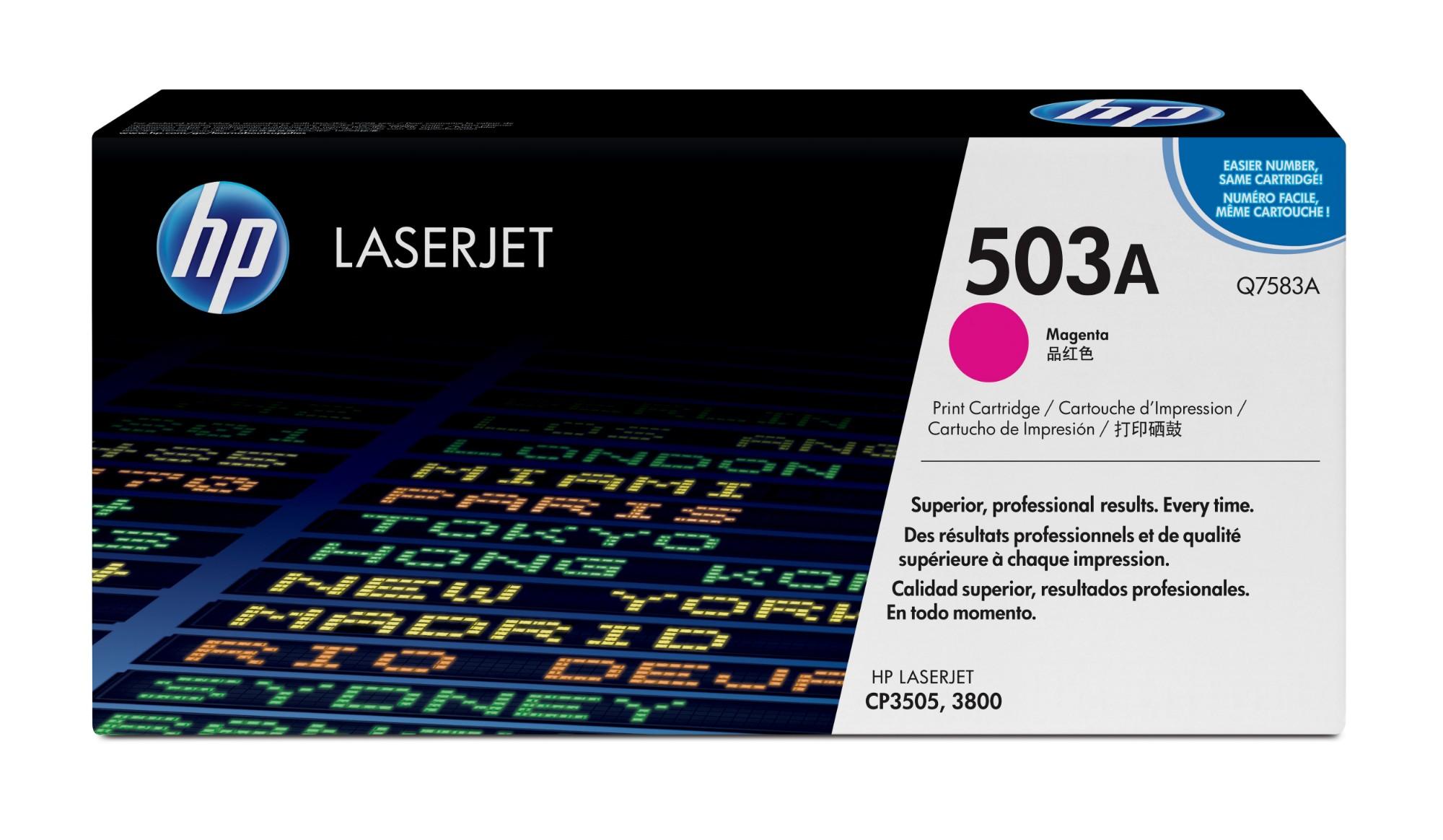 HP 503A Origineel Magenta 1 stuk(s)