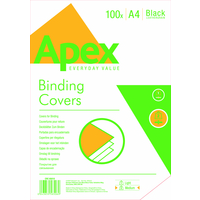 Fellowes APEX LEATHERBOARD COVER BLK A4