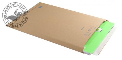 Blake Purely Packaging Corrugated Pocket Peel and Seal Kraft 353×250mm (Pack 100)