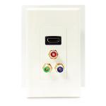 4XEM 4XWALLHDMIRCA outlet box White