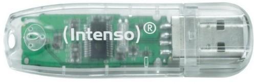 Intenso Rainbow Line 32GB 32GB USB 2.0 USB Type-A connector Transparent USB flash drive