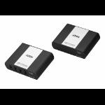 Aten UEH4002A AV extender AV transmitter & receiver Black,White