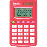 CANON LS270VIIB CALCULATOR HAND HELD RED