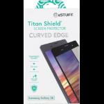 eSTUFF Samsung Galaxy S8 Curved C Blk Samsung Galaxy S8 Clear screen protector 1pc(s)