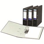 Rexel Elite Lever Arch File A4 Black file storage box