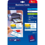 Avery Quick&Clean 85 x 54 mm (x25) business card 250 pc(s)