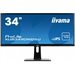 "iiyama ProLite XUB3490WQSU-B1 AH-IPS 34"" Black Wide Quad HD LED display"