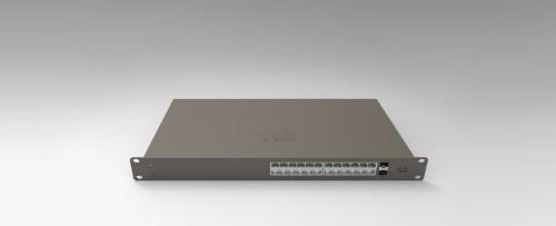 Cisco Meraki GS110-24-HW-UK network switch Managed Gigabit Ethernet (10/100/1000) Grey 1U