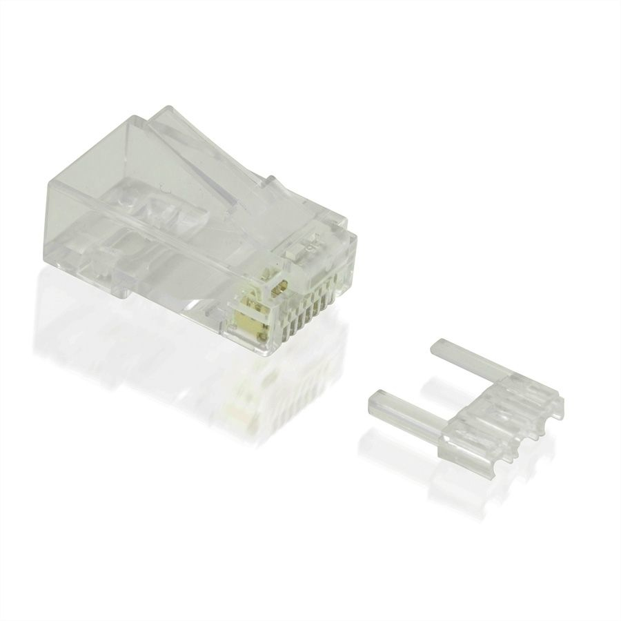 Value 21.99.3064 wire connector RJ-45 Transparent