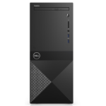 DELL Vostro 3670 8ª generación de procesadores Intel® Core™ i3 i3-8100 4 GB DDR4-SDRAM 1000 GB Unidad de disco duro Mini Tower Negro PC Windows 10 Pro