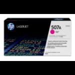 HP 507A Origineel Magenta 1 stuk(s)
