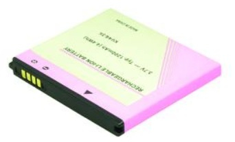 2-Power 3.7V 1200mAh Lithium-Ion 1200mAh 3.7V rechargeable battery