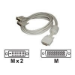 Matrox LFH60-to-dual-DVI-I-adapter cable (CAB-L60-2XD6F)