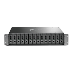 TP-LINK TL-MC1400 network equipment chassis 2U