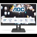 "AOC E1 24E1Q computer monitor 60,5 cm (23.8"") 1920 x 1080 Pixels Full HD LED Zwart"