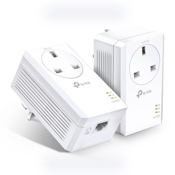 TP-LINK TL-PA7017P KIT adaptador de red powerline 1000 Mbit/s Ethernet Blanco 2 pieza(s)