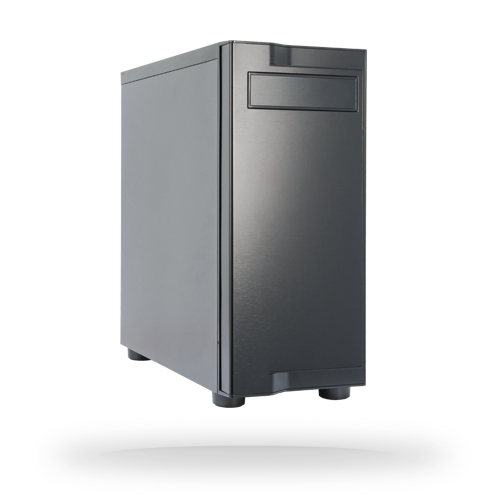 Chieftec ATX AL-01B-OP Midi-Tower Black computer case