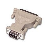 C2G DB9/DB25 Adapter DB9 DB25 Grey cable interface/gender adapter