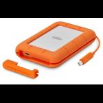 LaCie Rugged 1000GB Orange,Silver