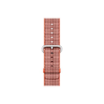 APPLE ^38MM ORANGE/ANTHRACITE WOVEN NYLON