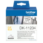Brother DK-11234 printer label White Self-adhesive printer label DK11234