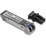 Trendnet TEG-MGBS20 convertidor de medio 1250 Mbit/s 1310 nm Monomodo Negro, Acero inoxidable
