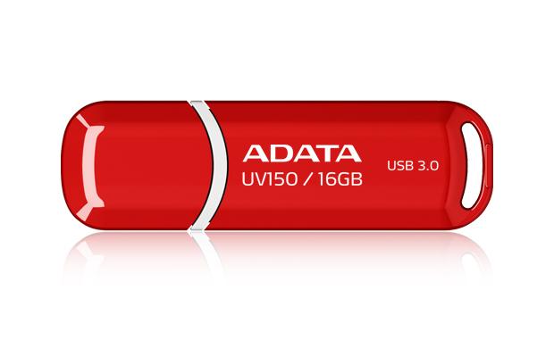 ADATA 16GB DashDrive UV150 16GB USB 3.0 (3.1 Gen 1) Type-A Red USB flash drive