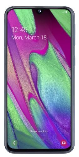 "Samsung Galaxy SM-A405F 15 cm (5.9"") 4 GB 64 GB Dual SIM 4G Black 3100 mAh"