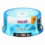 Maxell DVD-R 4.7GB DVD-R 25pcs