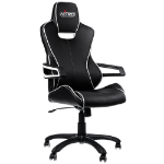 Nitro Concepts E200 Race Gaming Chair Black and White