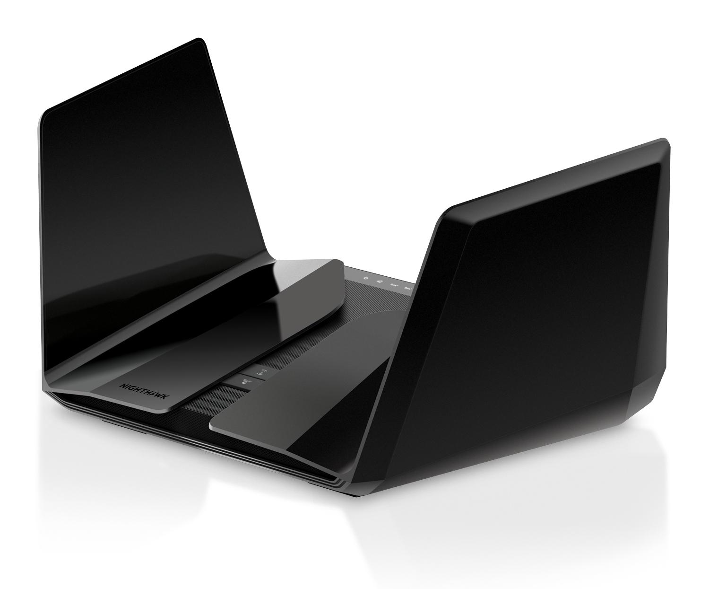 Netgear RAX200 wireless router Gigabit Ethernet Tri-band (2.4 GHz / 5 GHz / 5 GHz) Black