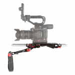 SHAPE C200BR camera rig Aluminium Black