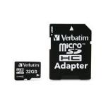 Verbatim 32GB microSDHC 32GB MicroSDHC Class 4 memory card