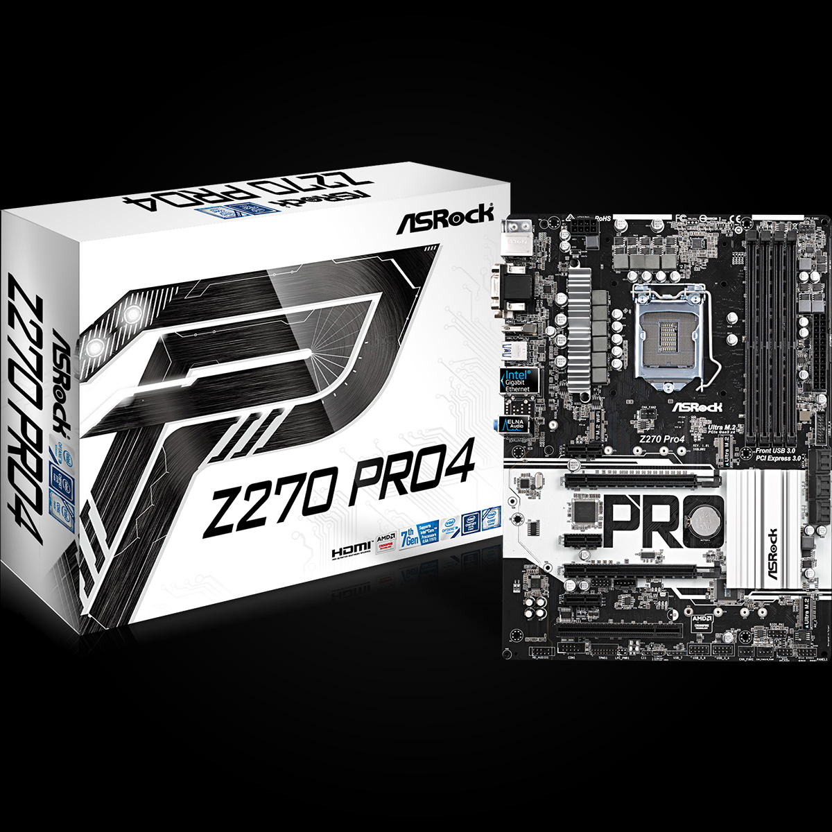 Asrock Z270 Pro4 Intel Z270 LGA1151 ATX motherboard