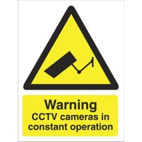 Stewart Superior Warning CCTV Cameras Sign