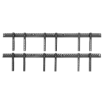 "Atdec ADWS-3X2F-340-W flat panel wall mount 165.1 cm (65"") Black"