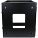 StarTech.com 12U 22in Depth Hinged Open Frame Wall Mount Server Rack RK1219WALLOH