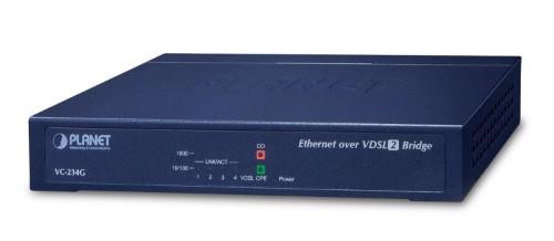 PLANET VC-234G bridge/repeater Network bridge 1000 Mbit/s Blue