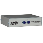 Tripp Lite 2-Port Manual Push Button VGA/SVGA Video Switch - Metal video switch