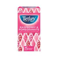 Tetley RASPBERRY AND POMEGRANATE TEA P25