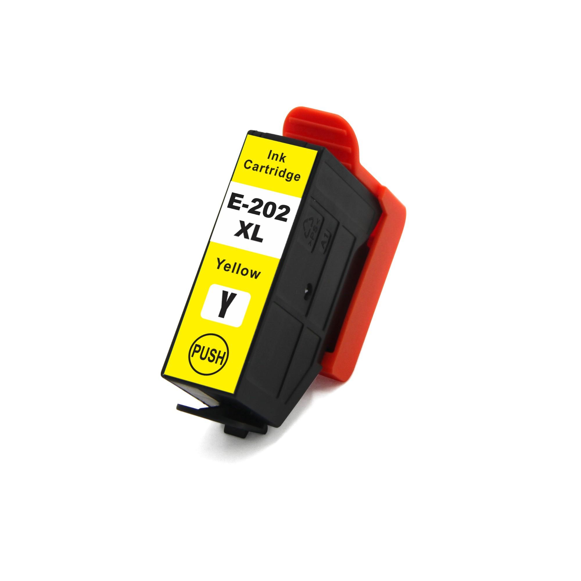 Compatible Epson 202XL Kiwi Yellow Ink Cartridge